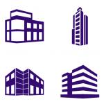 Изображения зданий для печатей